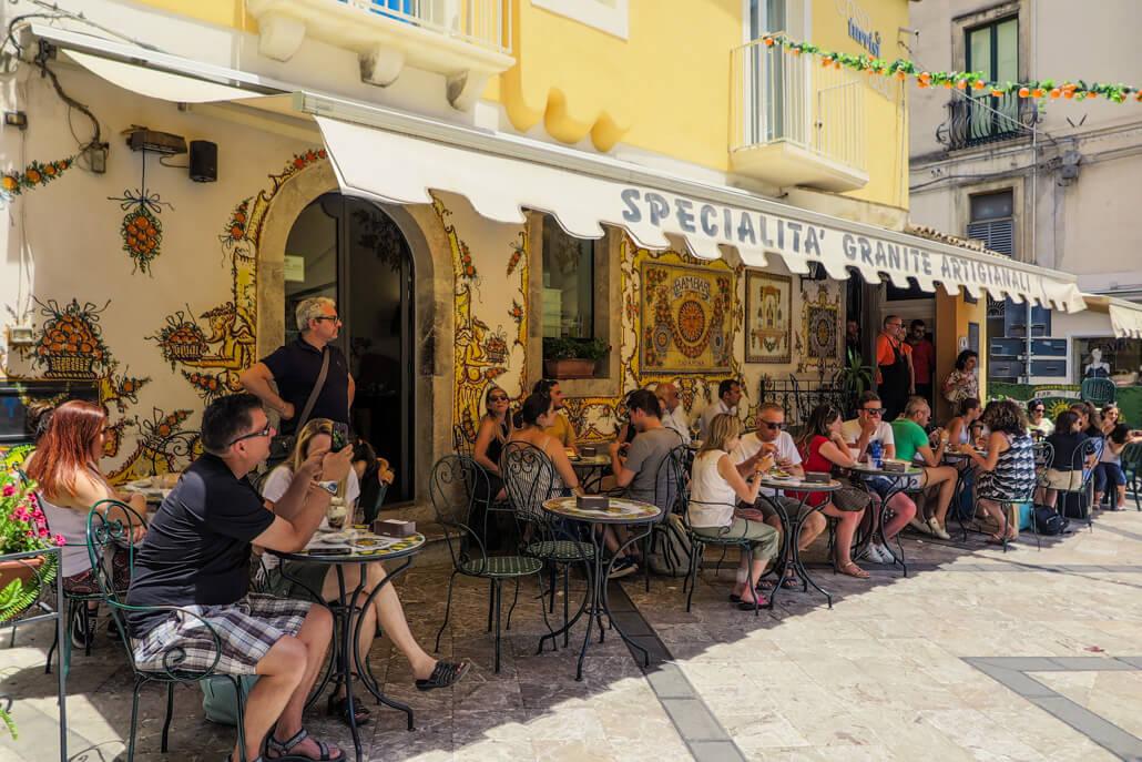 Bam Bar Taormina Italy