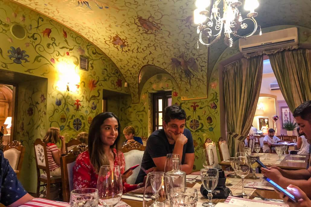 Inside Polka Restaurant Warsaw Poland