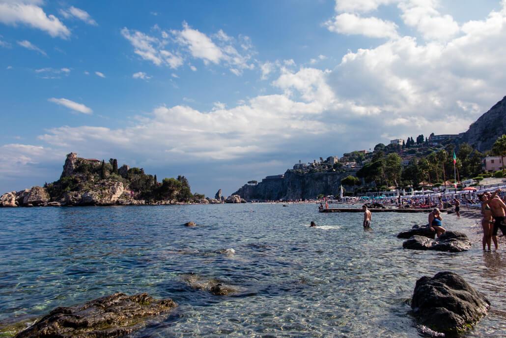 Isola Bella Beach Taormina Sicily