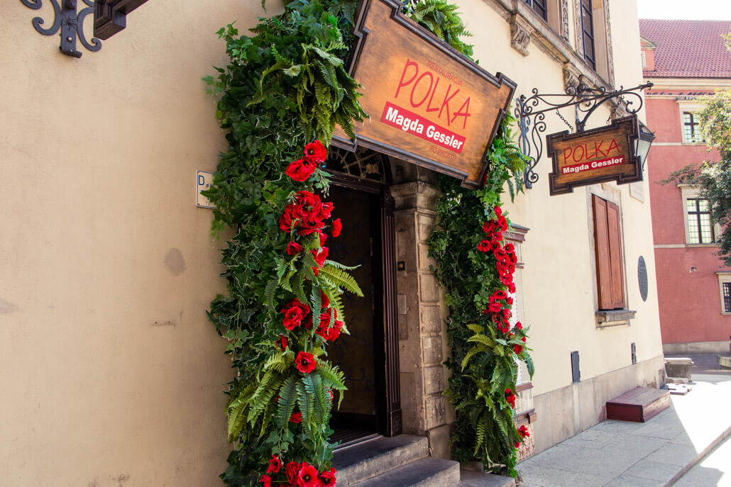 Polka Restaurant Warsaw Poland