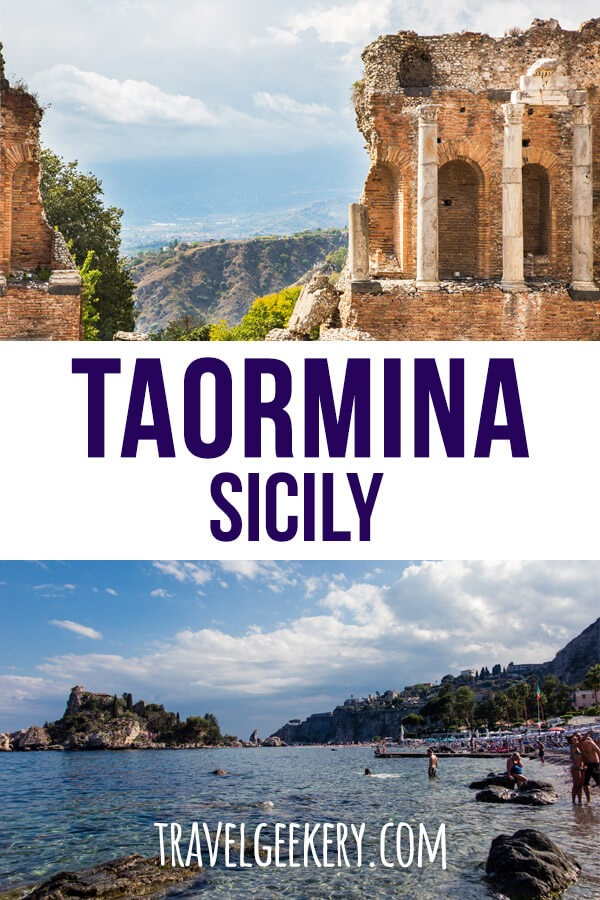 Travel to Taormina, Sicily, Italy: See all the things to do and places to see that can be done in one day. From Taormina beach to Taormina city attractions, covering all the main sights in Taormina. Granitas included! #taormina #sicily #italy #beach #europe #travel
