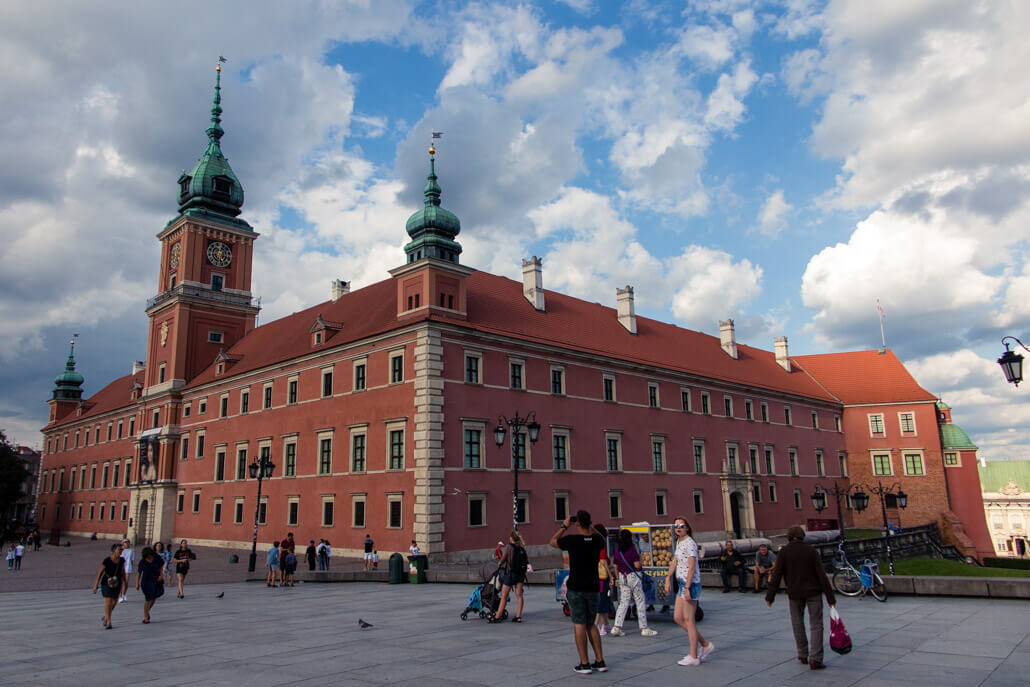 Warsaw Castle Poland