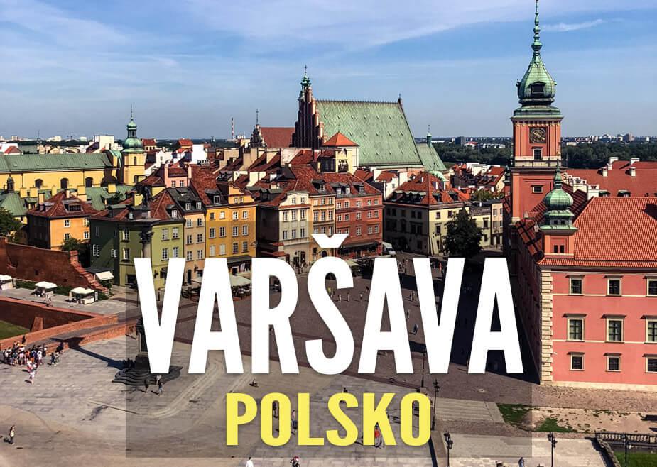 Proč navštívit Varšavu