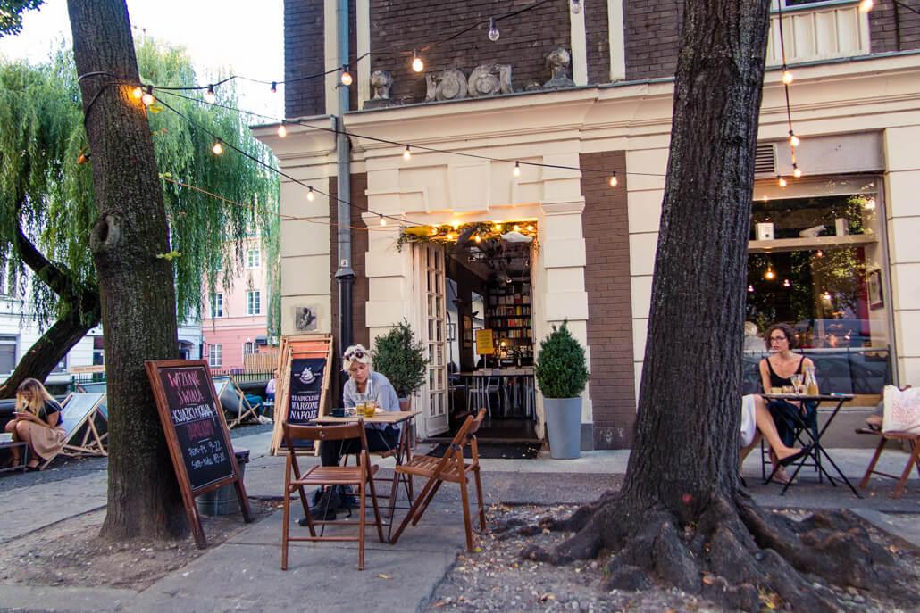 Wrzenie Świata Bookstore & Cafe Warsaw Poland