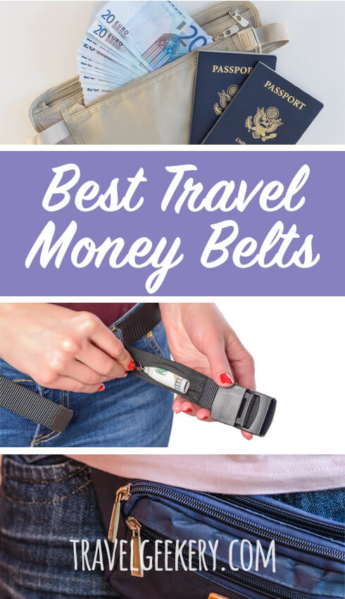 The best travel money belt: We reviewed 10 travel money belts for women and men, be it a fanny pack or under clothes money pouch. See why a good travel money belt is an essential part of travel gear for your trips. Includes RFID money belts to protect your identify information too. Keep your cash and passport safe with these anti-theft money belts and don't let pickpockets stand any chance.