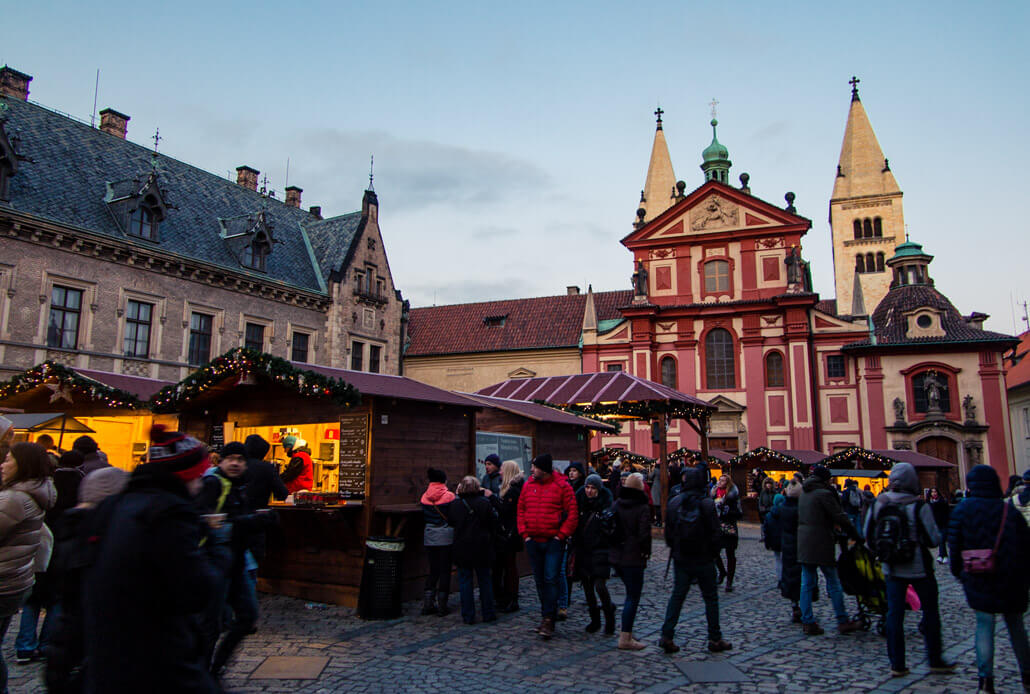 Prague Castle Christmas Market