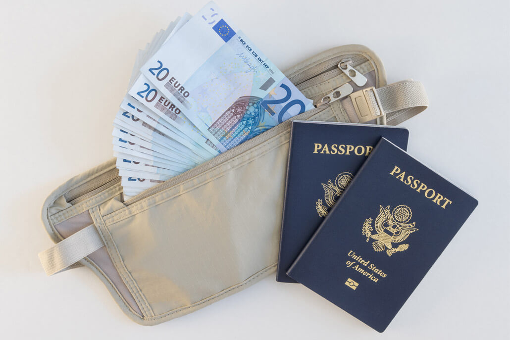 Example of a good travel money belt