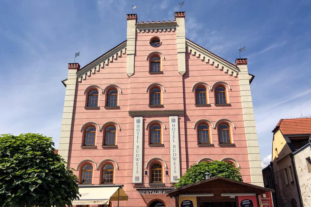 Hotel Budweis in Ceske Budejovice