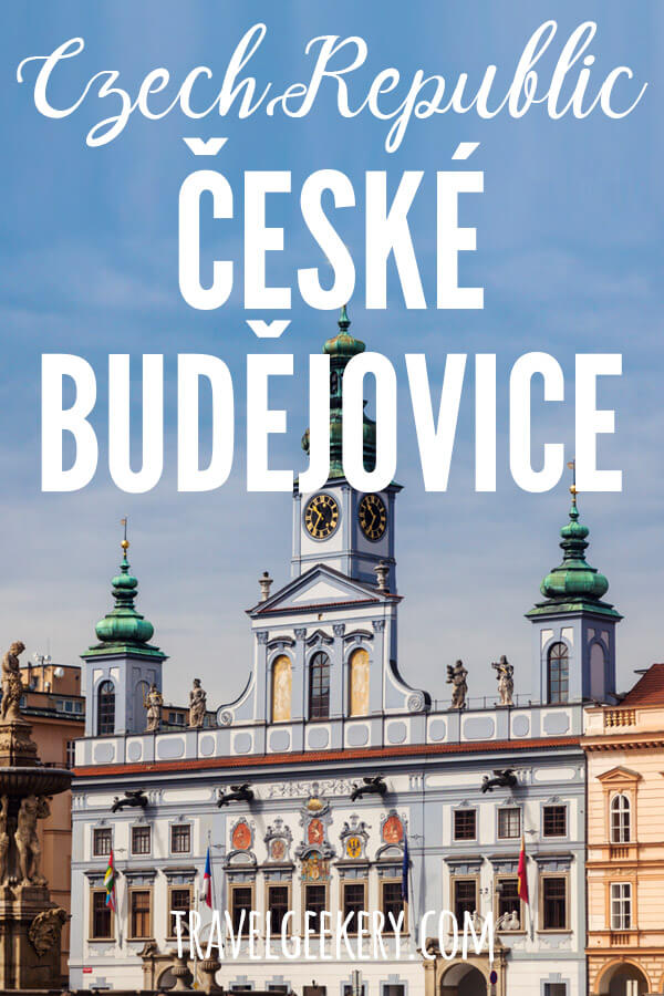 Ceske Budejovice is a lovely city in South Bohemia, i.e. in the South of Czech Republic. It's one of the most traditional beer cities. The original Budweiser Budvar is brewed here. But apart from the brewery, there's a lot of other things to do and see in České Budějovice. Travel to Budejce just 2 hours from Prague and explore more beautiful places in Czechia than just the capital. Can be visited on a day trip from Prague. #czechrepublic #visitcz #czechia #ceskebudejovice #budejce