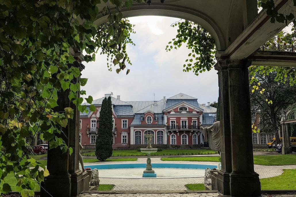 Długosz Family Palace Siary Poland