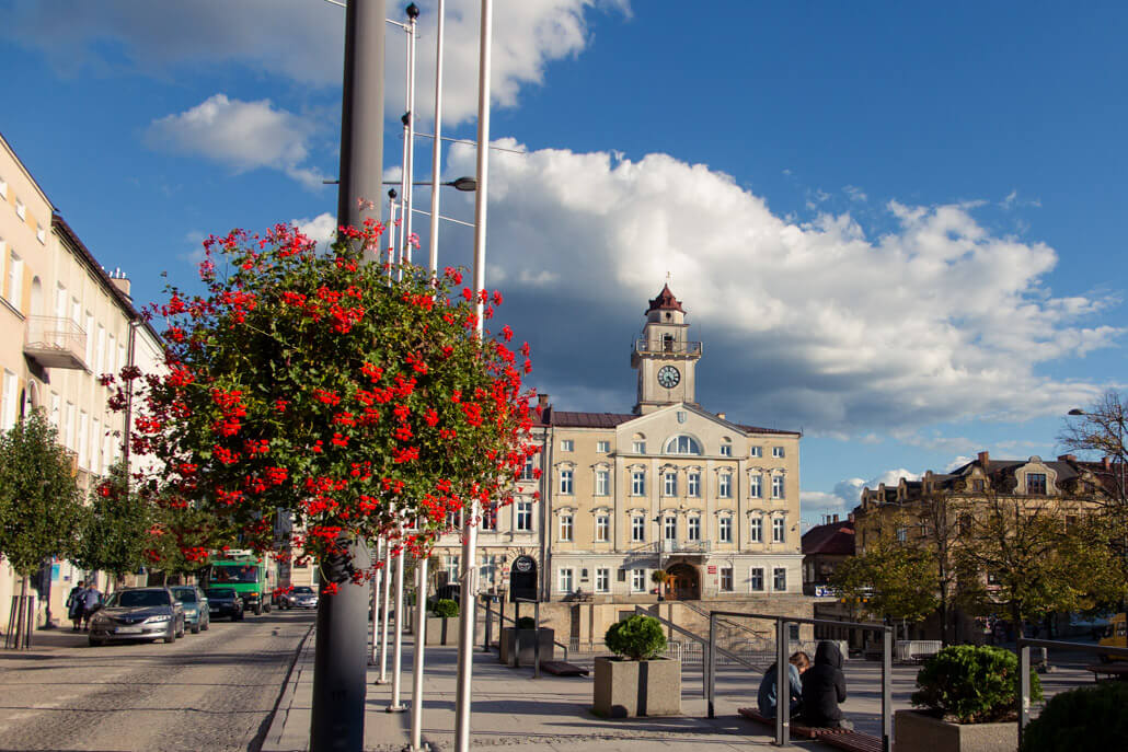 Gorlice City Hall and Market Square