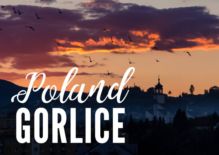 Gorlice Poland - City of Light