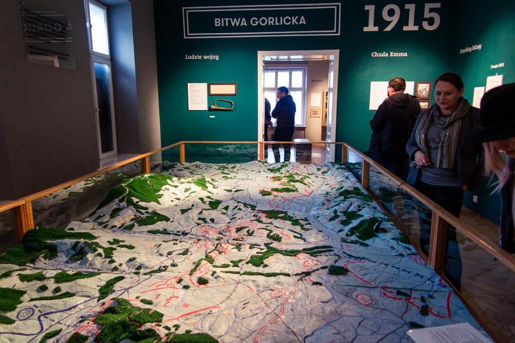 Inside Gorlice Museum