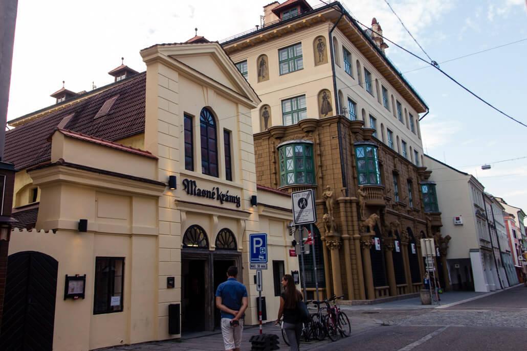 Masne Kramy Restaurant Ceske Budejovice