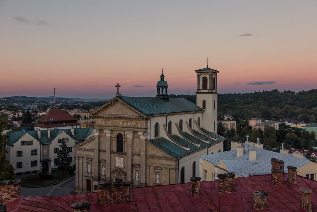 Minor Basilica of the Birth of the Virgin Mary Gorlice City Poland
