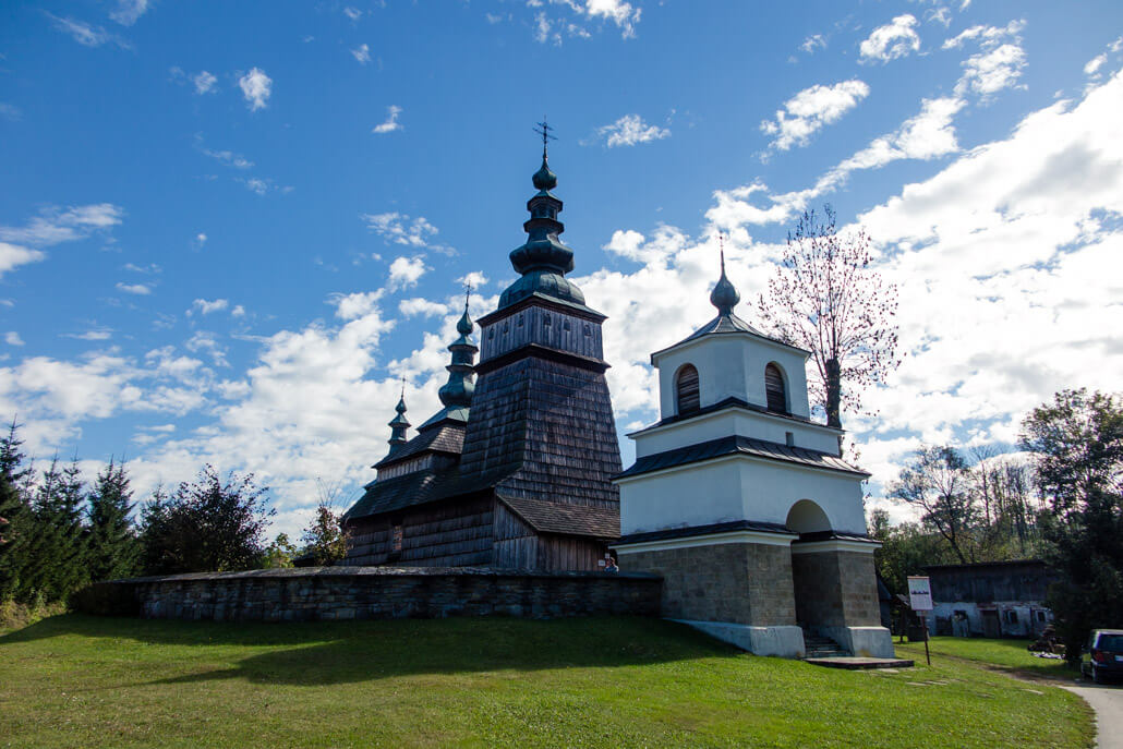 Wooden Orthodox Church in Owczary Poland