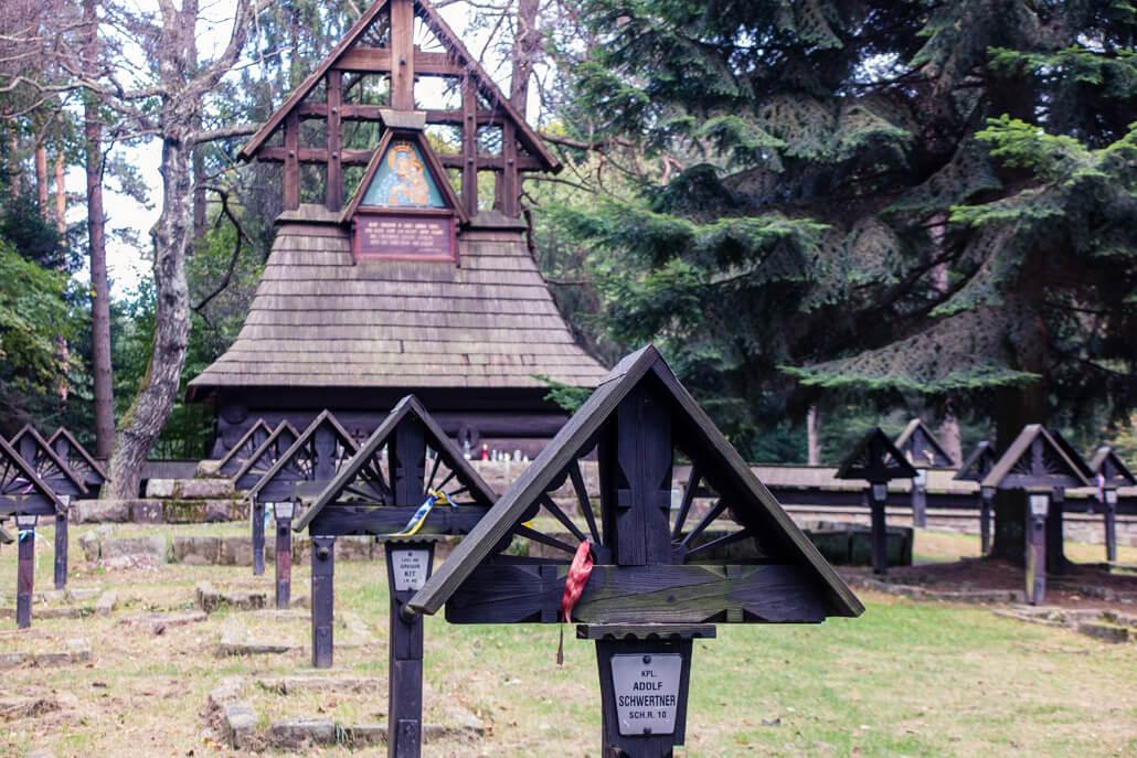 War cemetery no. 60 Gorlice Poland