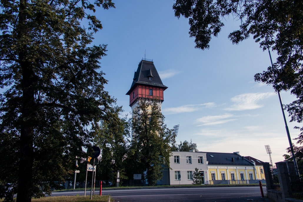 Water tower in Ceske Budejovice