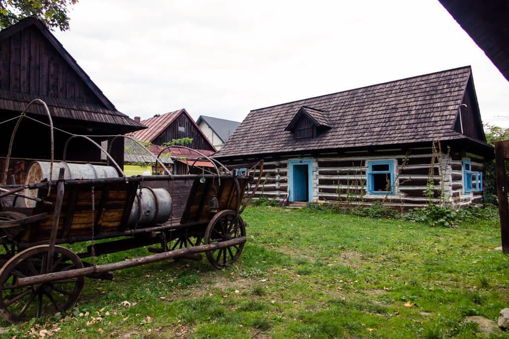 Zagroda Maziarska in Losie Poland