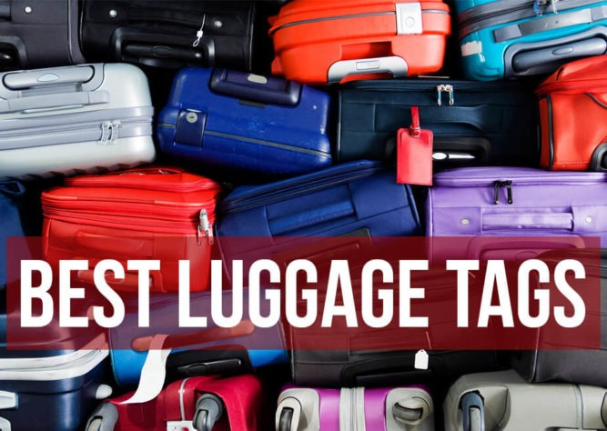 Best luggage tags for international travel in 2019