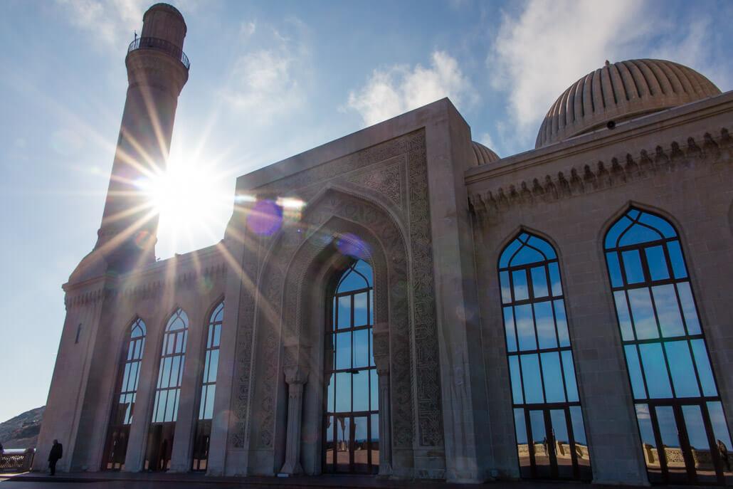 Bibi Heybat Mosque Baku Azerbaijan travel