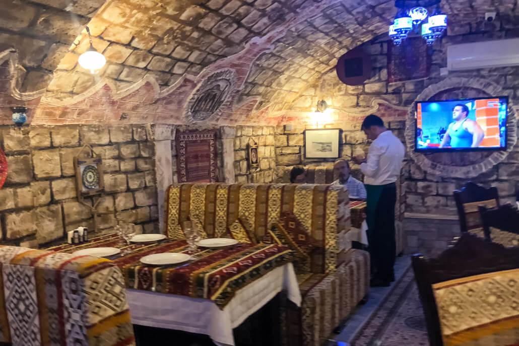 Dolma Restaurant Baku Azerbaijan