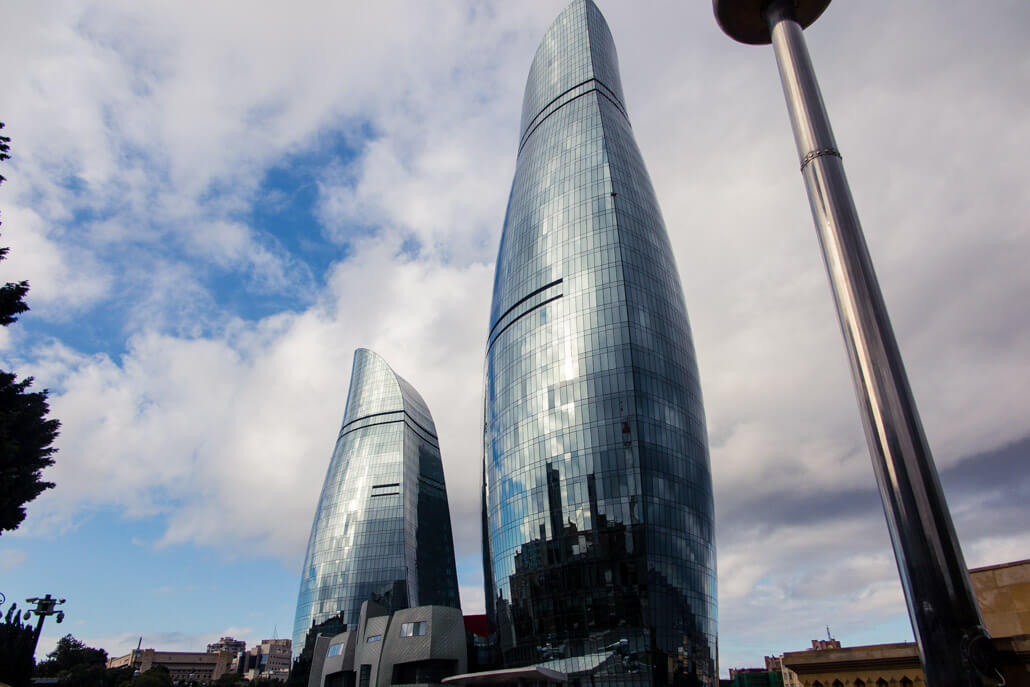 Flame Towers Baku tourism
