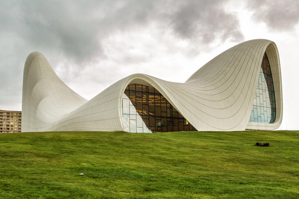 Heydar Aliyev Cultural Centre Baku Azerbaijan