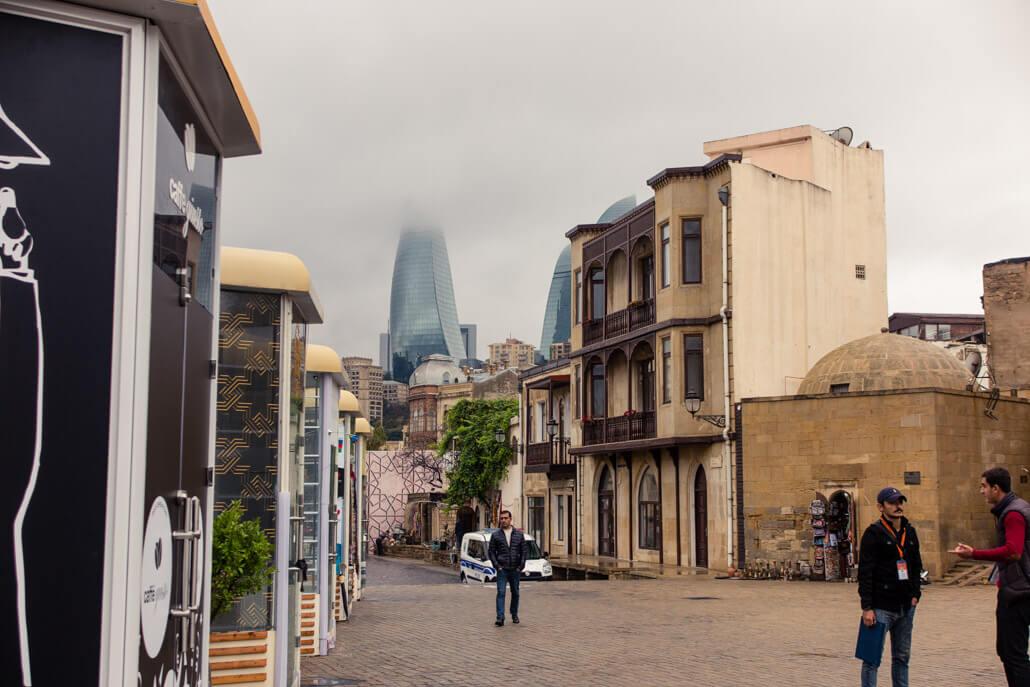Baku Old Town Azerbaijan