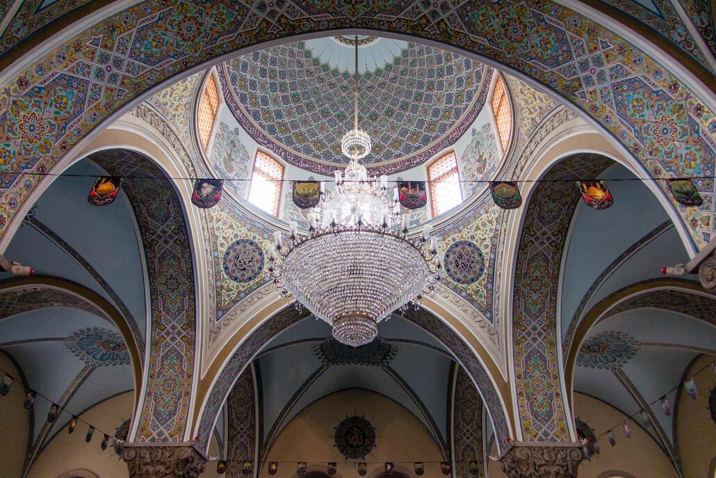 Inside Juma Mosque Baku Azerbaijan