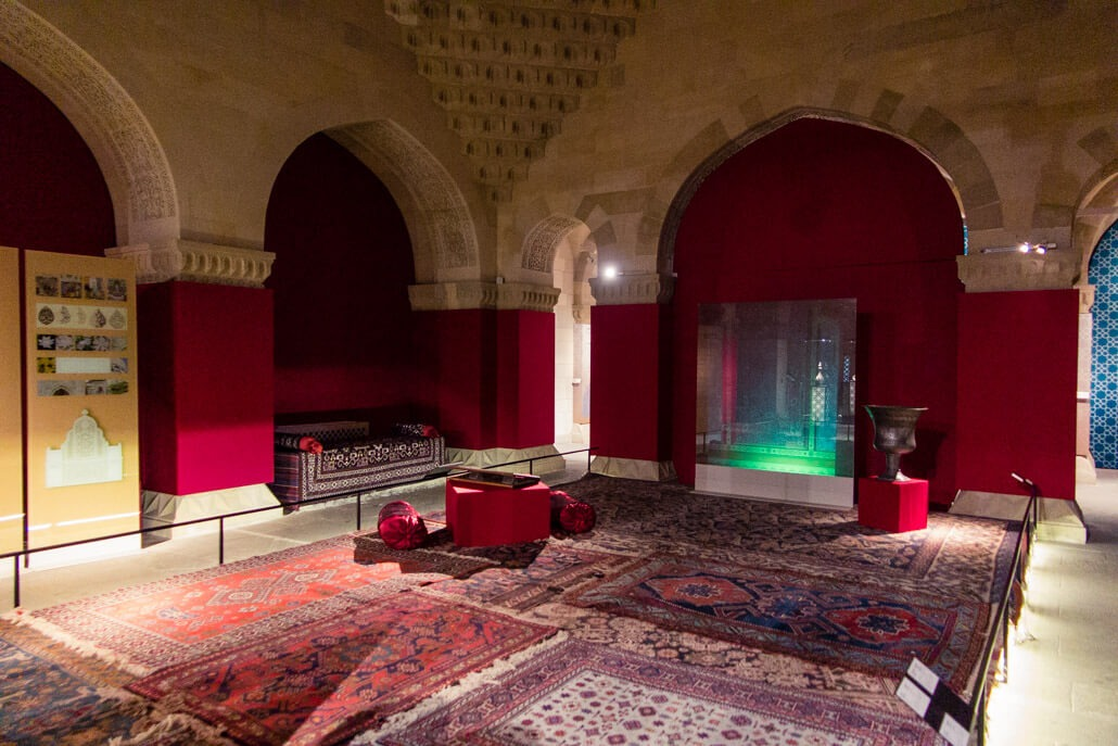Inside Shirvanshahs' Palace Baku Azerbaijan travel