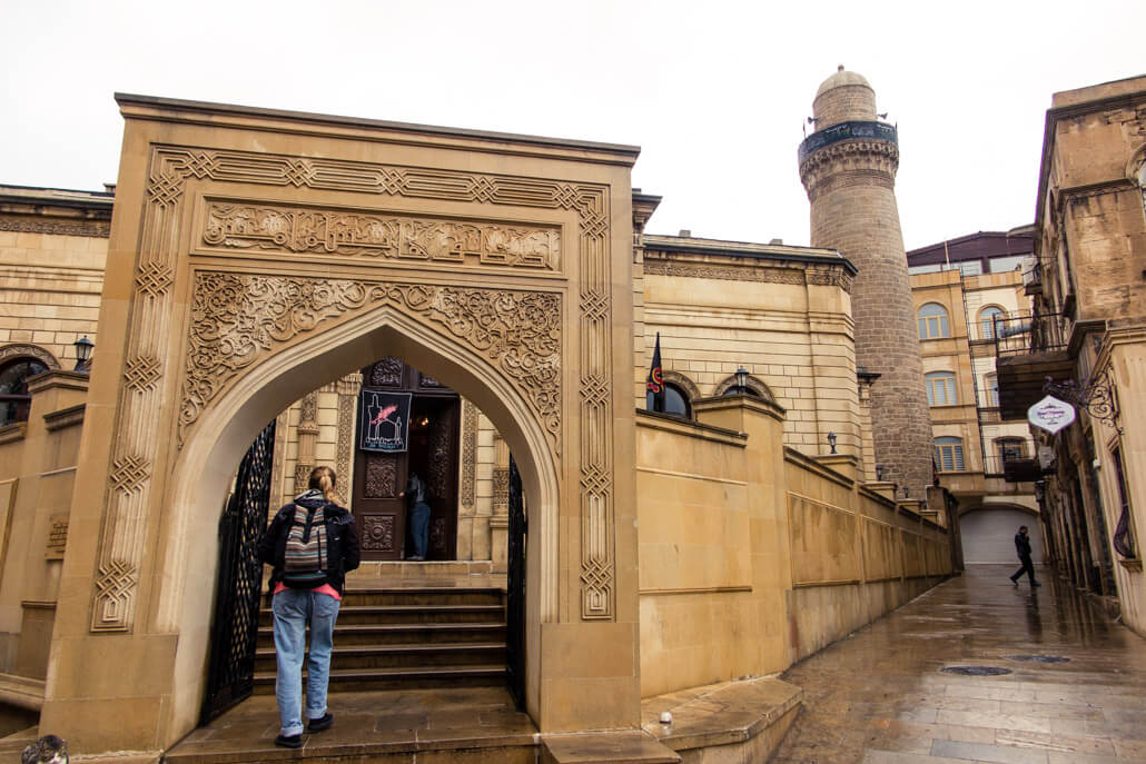 Juma Mosque in Old City Baku