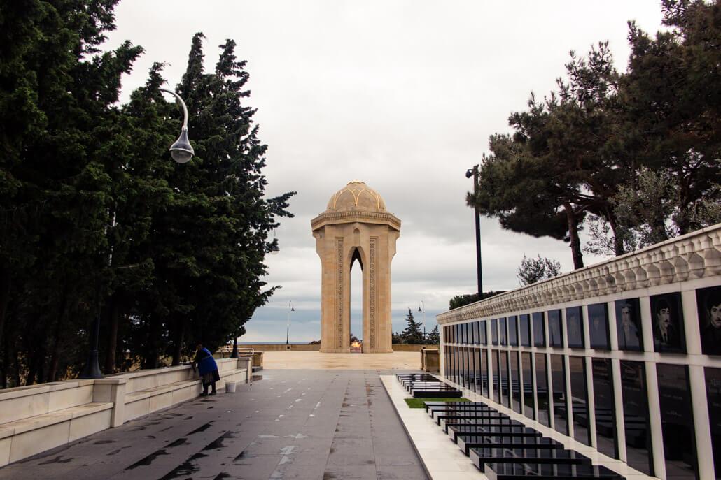 Martyrs' Lane Baku Azerbaijan