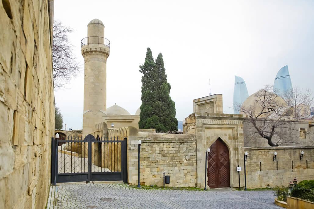 Shirvanshahs Palace Complex Baku Azerbaijan