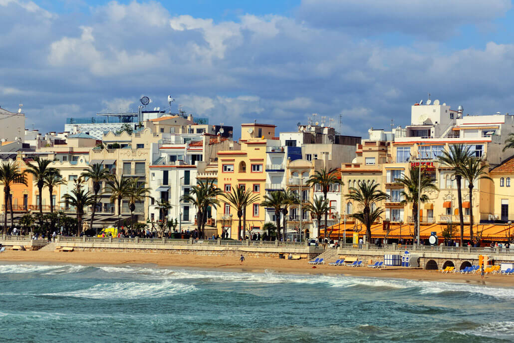 Sitges near Barcelona