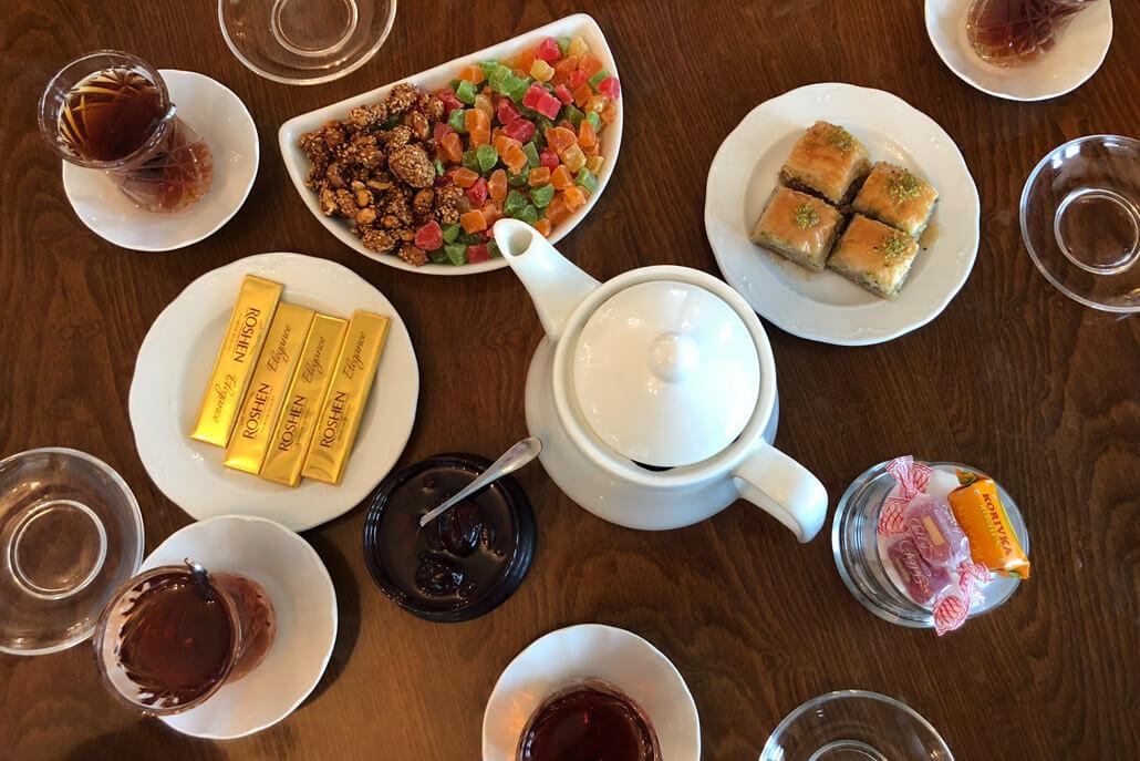 Dağüstü Park Café Sweets Baku Azerbaijan