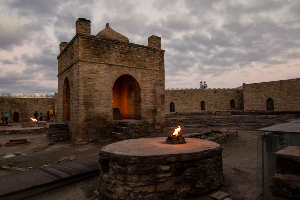 Zoroastrian Temple of Eternal Fire Ateshgah Azerbaijan