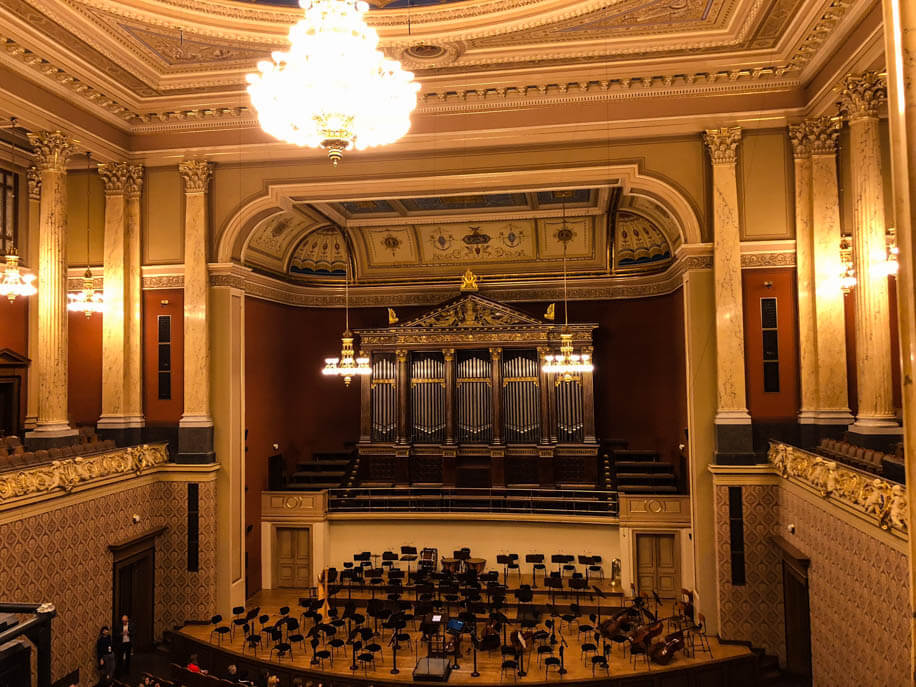 Dvorak Hall in Rudolfinum Prague