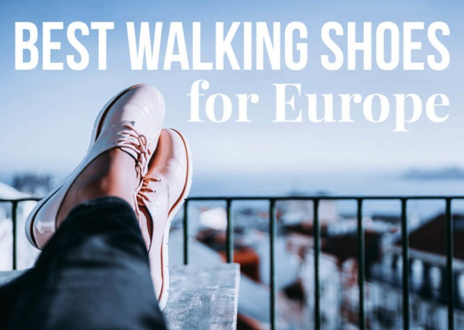 4dfcdbddb48bd Best Walking Shoes for Europe: 10 Different Styles | TravelGeekery