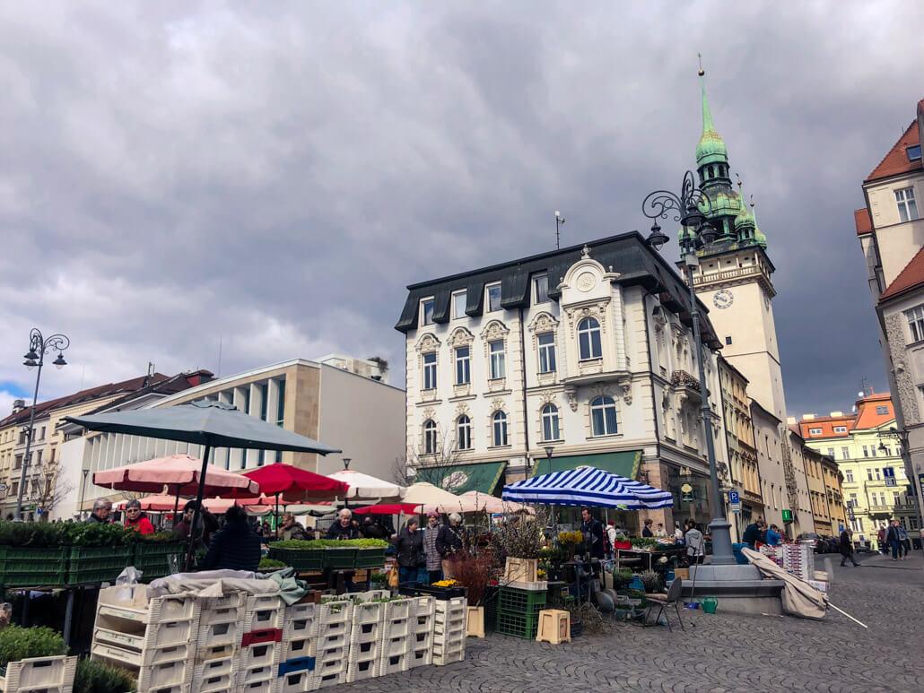 Brno Market Square (Zelný trh)