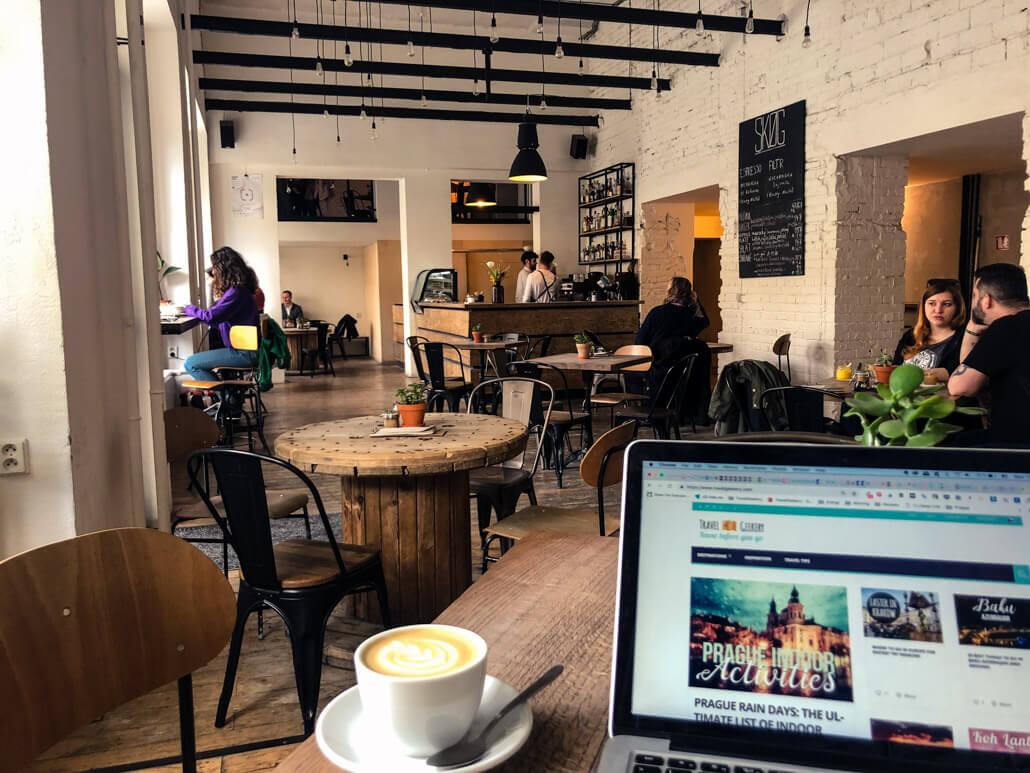 Skog Urban Hub Café interior