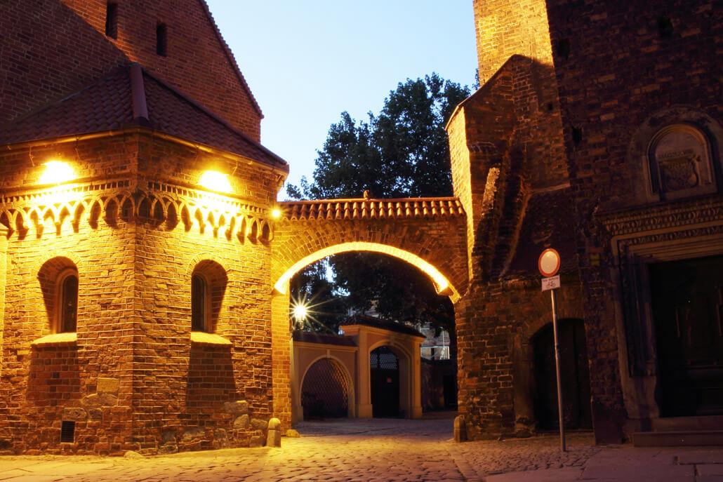 Dumpling Gate in Wroclaw