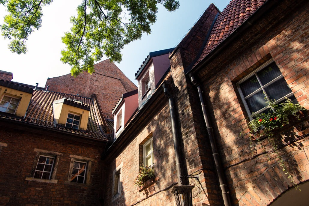 Former prison in Wroclaw Poland