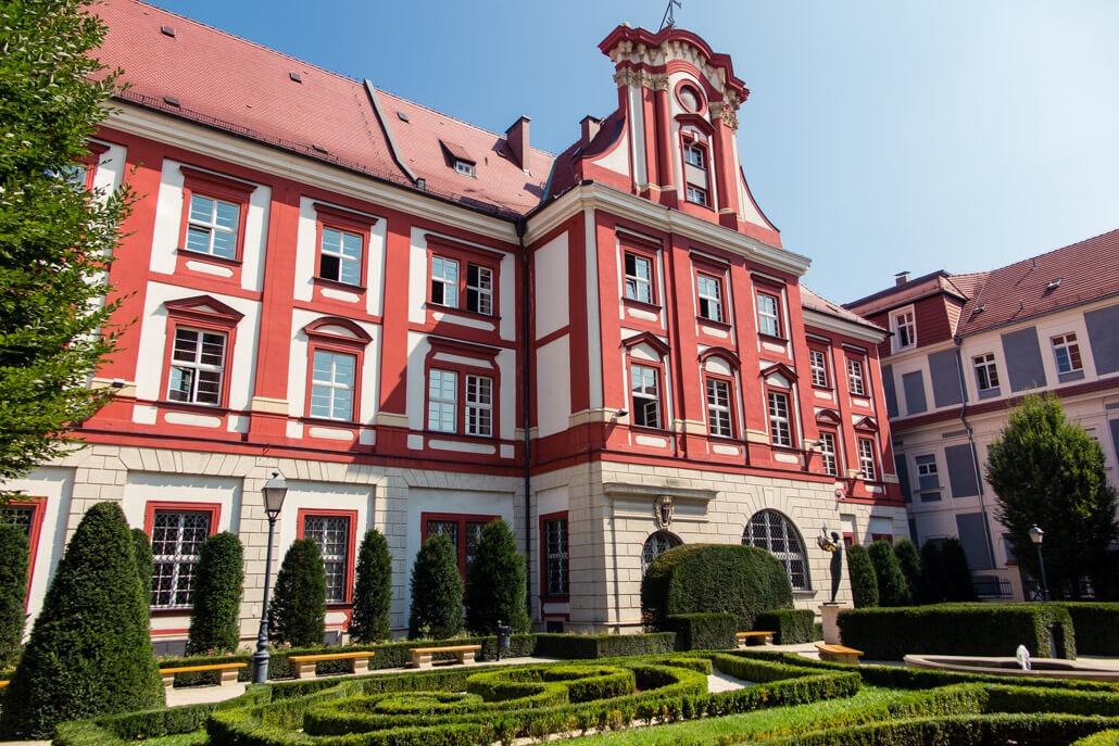 Ossolineum Garden Wroclaw