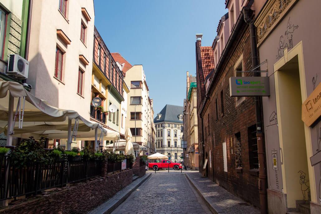 Prison Street Wroclaw Poland