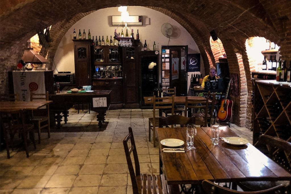 Vino Underground Tbilisi interior