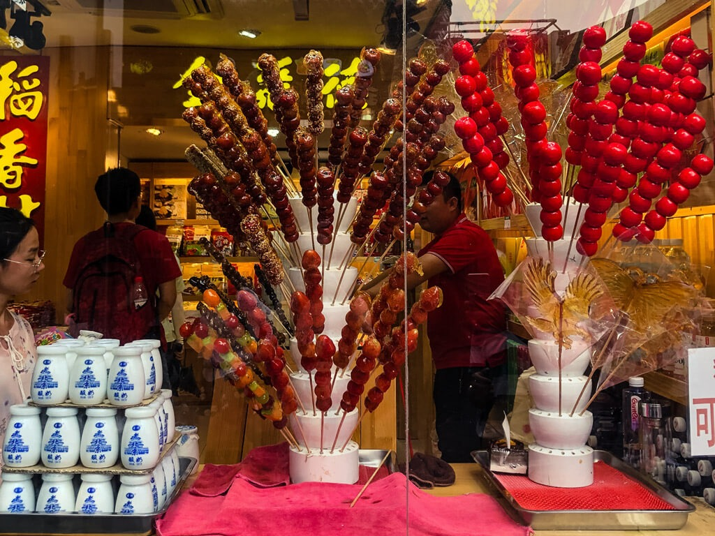 Sweets in China