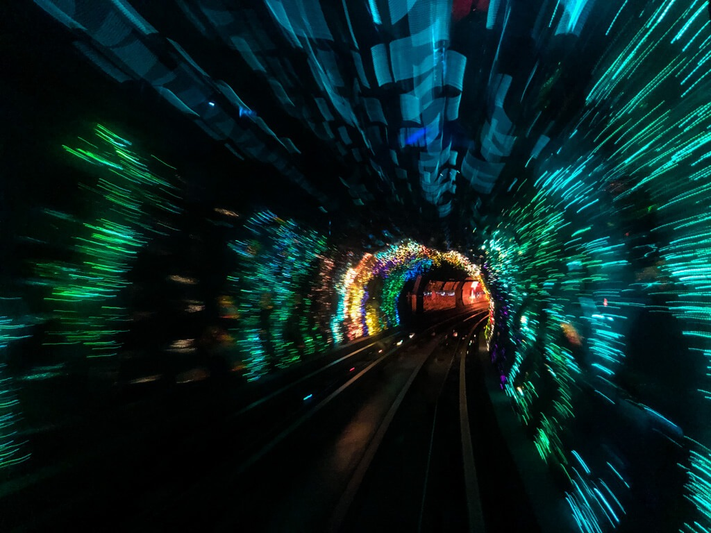Bund Sightseeing Tunnel Shanghai China