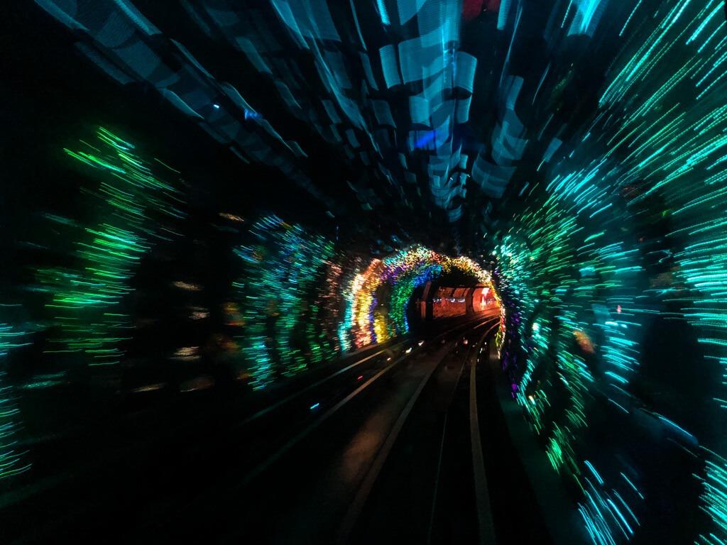 Bund Sightseeing Tunnel Shanghai China