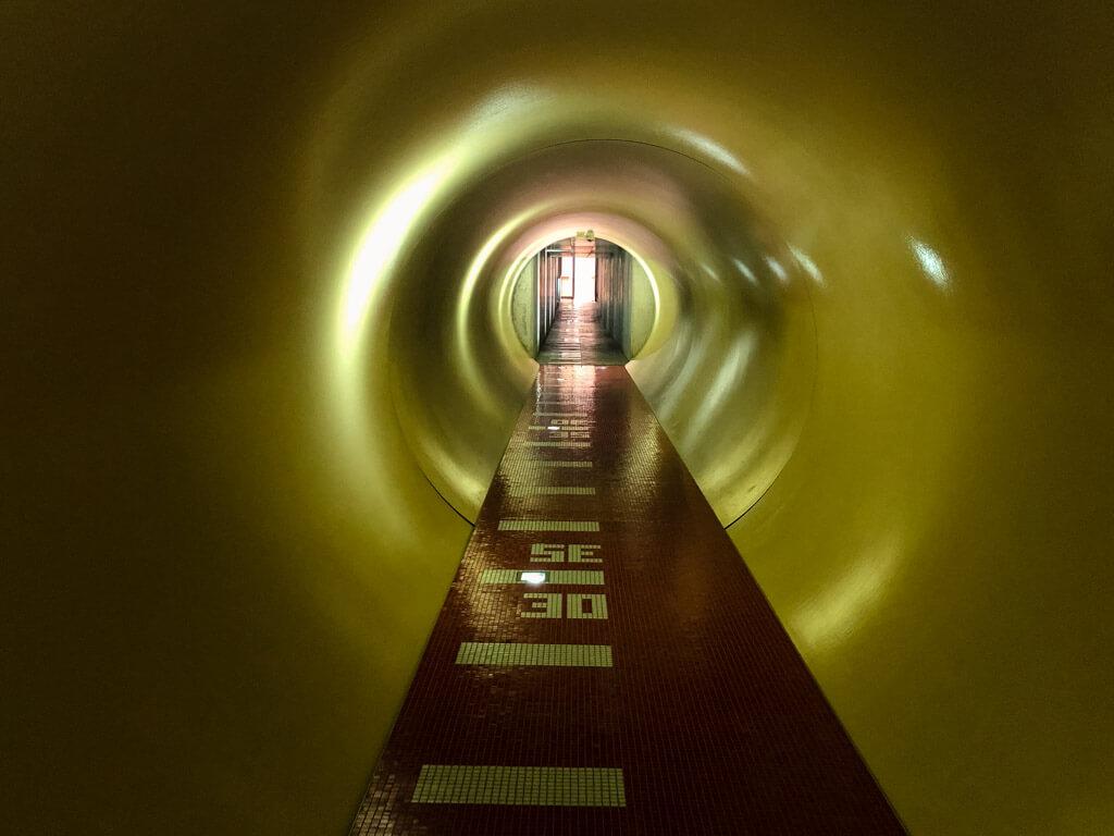 Tunel v hotelu Antonie